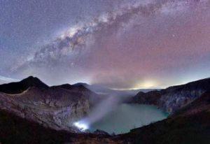 Objek Wisata Kawah Gunung Ijen